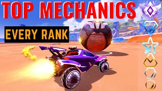 Top Mechanics to Practice in Every Rank! My Ultimate Rocket League Training Guide