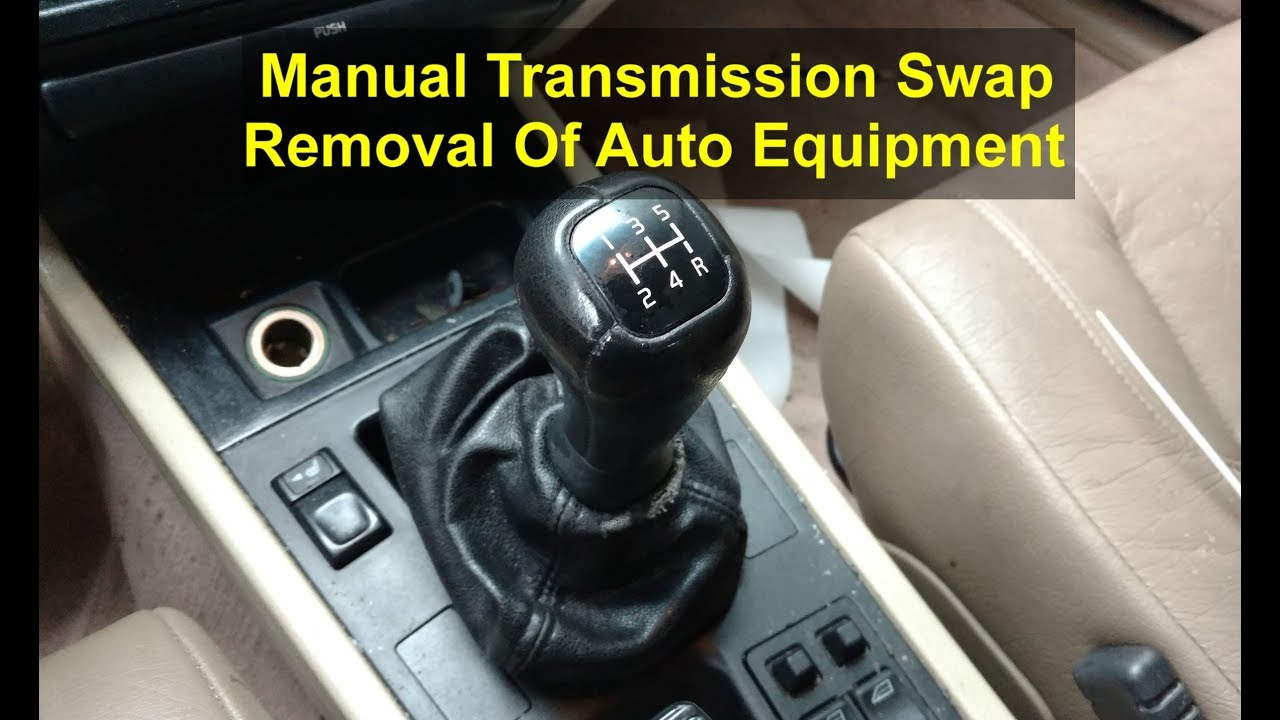 removing the automatic transmission stuff volvo 850 s70 etc manual transmission swap  [ 1280 x 720 Pixel ]