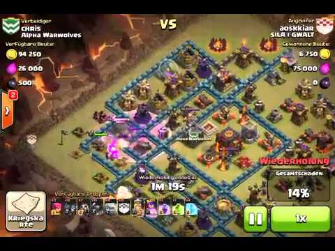 Clash of Clans - jak zepsuć atak na max wioche i zdobyc 2 g