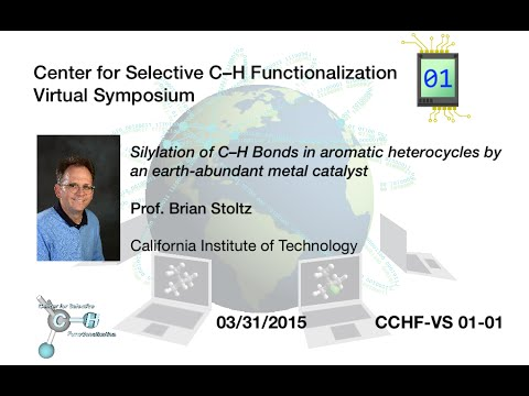 CCHF VS 1.1 | Prof. Stoltz: Silylation of C–H bonds in aromatic heterocycles