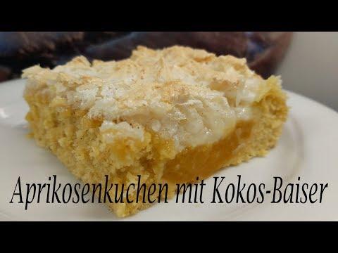 Thermomix® TM5   Aprikosenkuchen mit Kokos-Baiser
