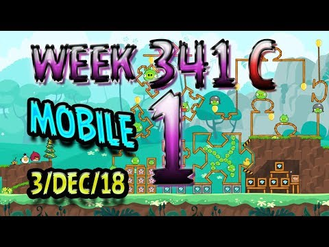 Angry Birds Friends Tournament Level 1 Week 341-C  MOBILE Highscore POWER-UP walkthrough
