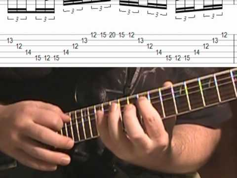 Melodic Sweep Picking & Tapping Lick (Lesson With TAB)