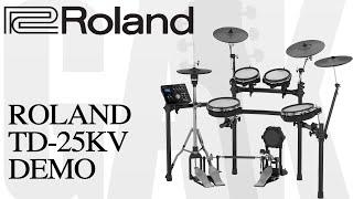 Roland TD-25KV V-Drum Kit Roland TD-25KV Demo Review