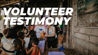 VOLUNTEERING TESTIMONY | KIDS IM