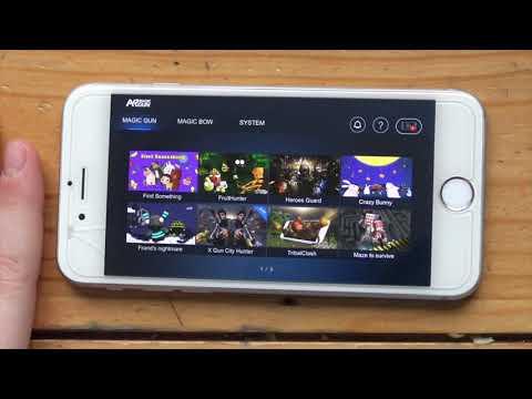 ARBlaster Gun Augmented Reality Gun Forever Soul Games Hunting Expert Stmen Fight Camp Heroes Guard
