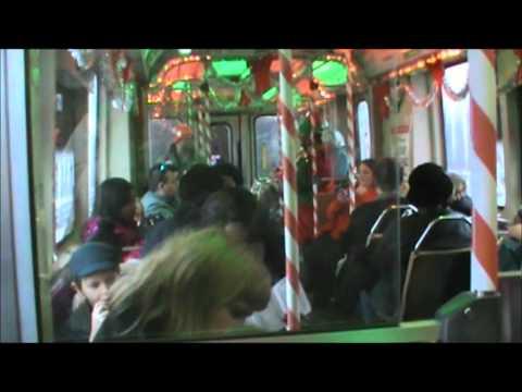2011 CTA holiday train - Green Line