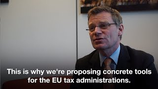 Stephen Quest (European Commission) explains the new proposal on VAT administrative cooperation