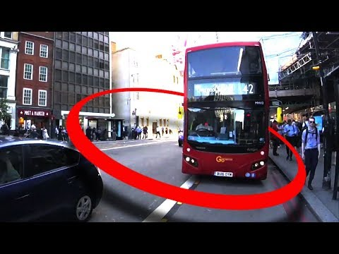 Bus Driver Beeps At Cyclists - Motive Unknown!