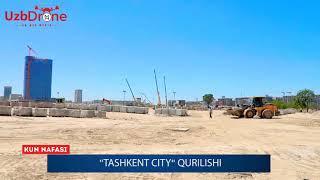 Tashkent City. Istirohat bog'i qurilishi