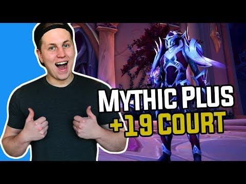 Mythic Plus Legion Dungeon: +19 Court of Stars (Arcane Mage) - Hogman