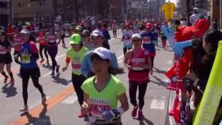 なごやウィメンズマラソン2017 IN 吹上(復路)