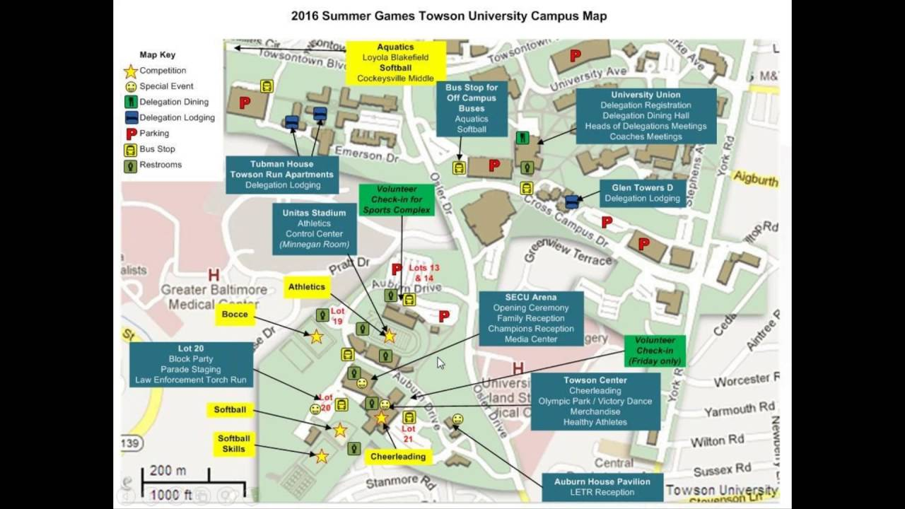 Loyola Blakefield Campus Map.Loyola Campus Map Oregon Tourist Attractions Map Map Of Oz