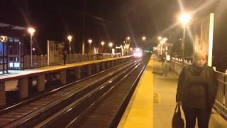 MTA LIRR Bombardier M7 entering Little Neck bound for Penn Station