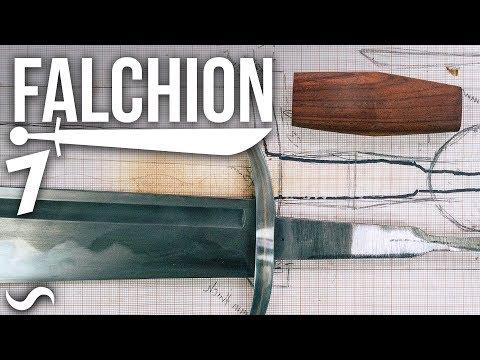 MAKING A FALCHION!!! Part 7