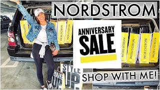 SHOP WITH ME AT THE NORDSTROM ANNIVERSARY SALE 2019 & HAUL!