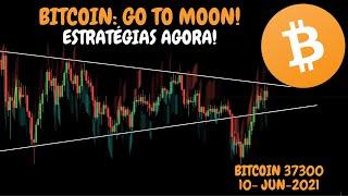 BITCOIN: TO MOON! + ESTRATÉGIAS PARA O MOMENTO - Análise Técnica/Sentimento 10/06