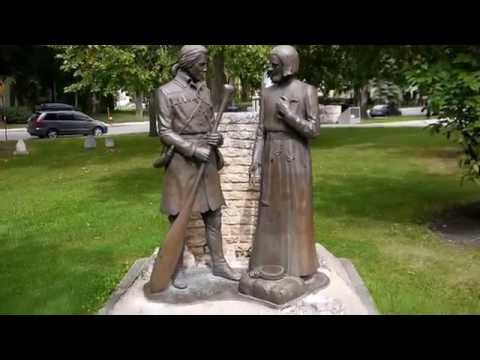 St.Boniface Cathedral, Louis Riel's tomb, and area, Winnipeg, Manitoba, Canada