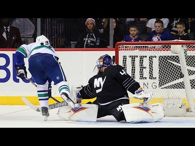 Shootout: Canucks vs Islanders