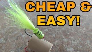 Fly Tying Tips - CHEAP & EASY Foam Popper Body