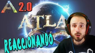 REACCIONANDO AL TRAILER EXTENDIDO DE ATLAS! EL NUEVO ARK