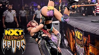 Shirai vs. LeRae - NXT Women's Title Tables, Ladders & Scares Match: Halloween Havoc, Oct. 28, 2020