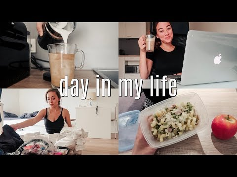 day in my life: internship interview, packing + organizing, honest update thumbnail