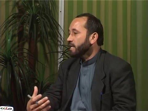 Abdul Manaf Faizi in RTA ( Radio Television of Afghanistan )- جناب عبدالمناف فیضی