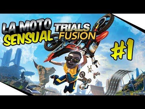 La moto SENSUAL - Trials fusion 1