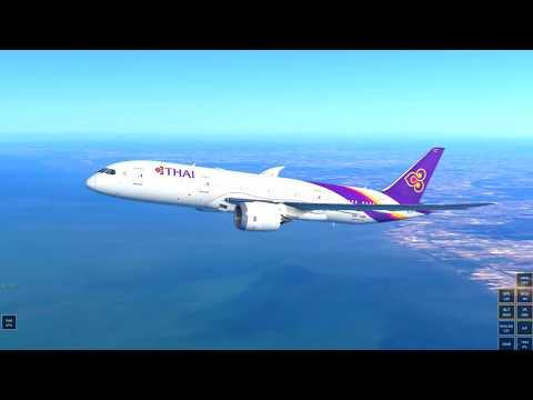 Infinite Flight Global Boeing 787-8 Bangkok - Kuala Lumpur Expert server