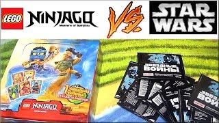 Lego Ninjago Лего Ниндзяго и STAR WARS Звёздные войны. Жетоны или карточки