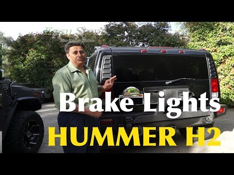 How To Fix Brake Lights Not Working On HUMMER