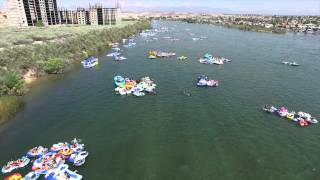 PART 2  AERIAL FOOTAGE OF BULLHEAD CITY RIVER REGATTA 2015