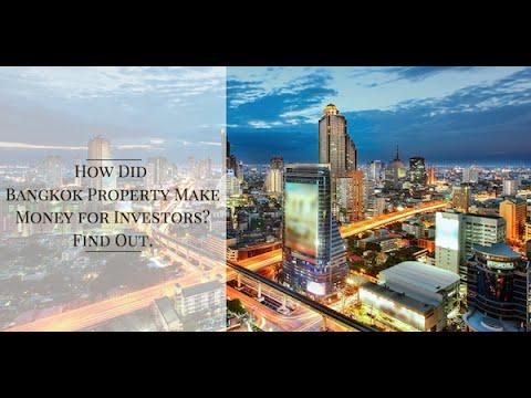 How did Bangkok Property MAKE MONEY for investor?