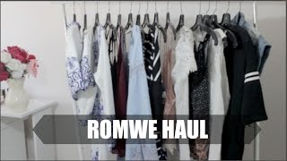 HUGE Summer Try-On Haul 2015: Romwe