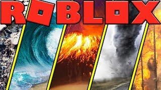 LE TOP 5 CRAZIEST NATURAL DISASTERS EN ROBLOX