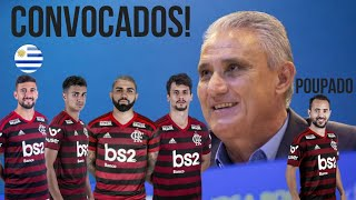 VERGONHA! TITE DESFALCA FLAMENGO EM JOGOS DECISIVOS! EVERTON RIBEIRO POUPADO! ÚLTIMAS DO MENGÃO