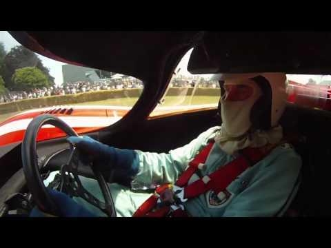 Richard Attwood driving the Porsche 917K at Goodwood