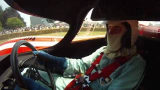 Richard Attwood driving the Porsche 917K at Goodwood