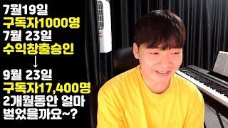 유튜브 수익 공개, 조회수 1당 얼마?