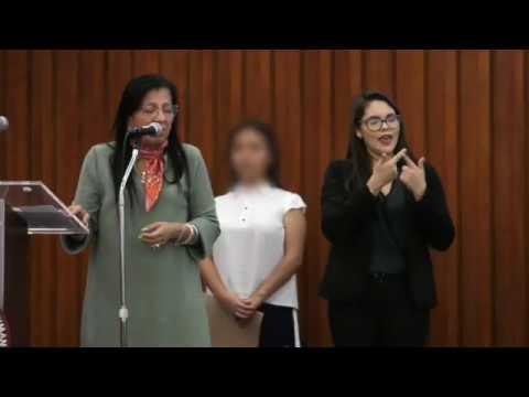 Discurso Presidenta #CDHCM, Nashieli Ramírez, Presentación
