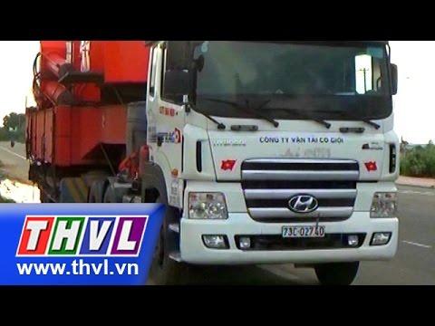 THVL | Bắt một trường hợp nhà xe dùng giấy phép giả chở quá tải ở Bình Thuận