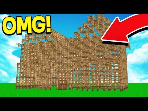 TURNING PLAYERS HOUSES INTO FENCE! (ULTIMATE TROLL!)
