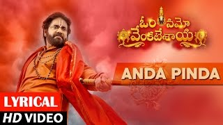 Download Hindi Video Songs - Anda Pinda Full Song lyrical | Om Namo Venkatesaya | Nagarjuna, Anushka Shetty | M M Keeravani
