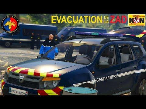 Notre-Dame-des-Landes - Evacuation de la ZAD | Gendarmerie Mobile