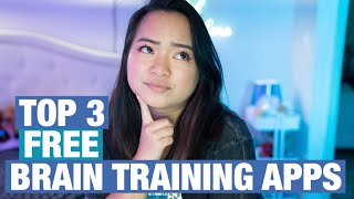 TOP 3 Brain Training Apps to Make You SMARTER for FREE! | Best Educational Apps 2020 screenshot 4