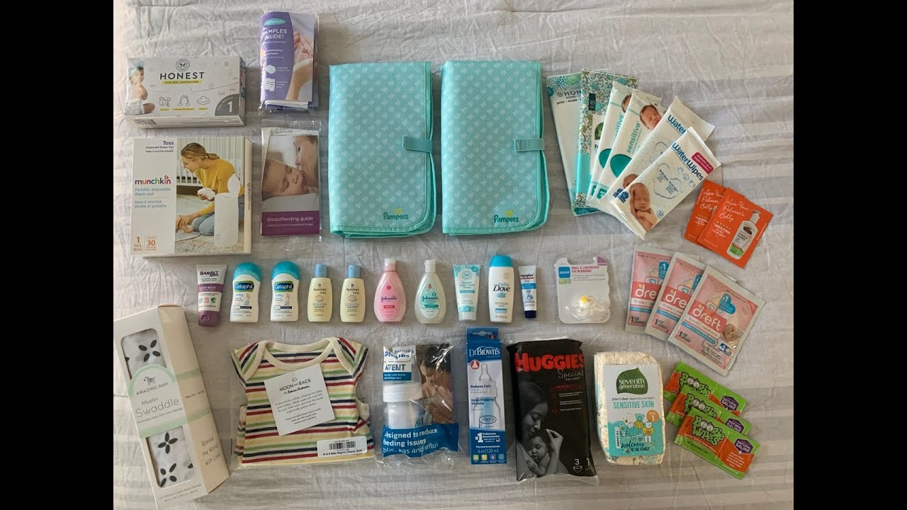 WHAT'S IN MY BABY REGISTRY GIFT BAGS! AMAZON, TARGET, AND ...