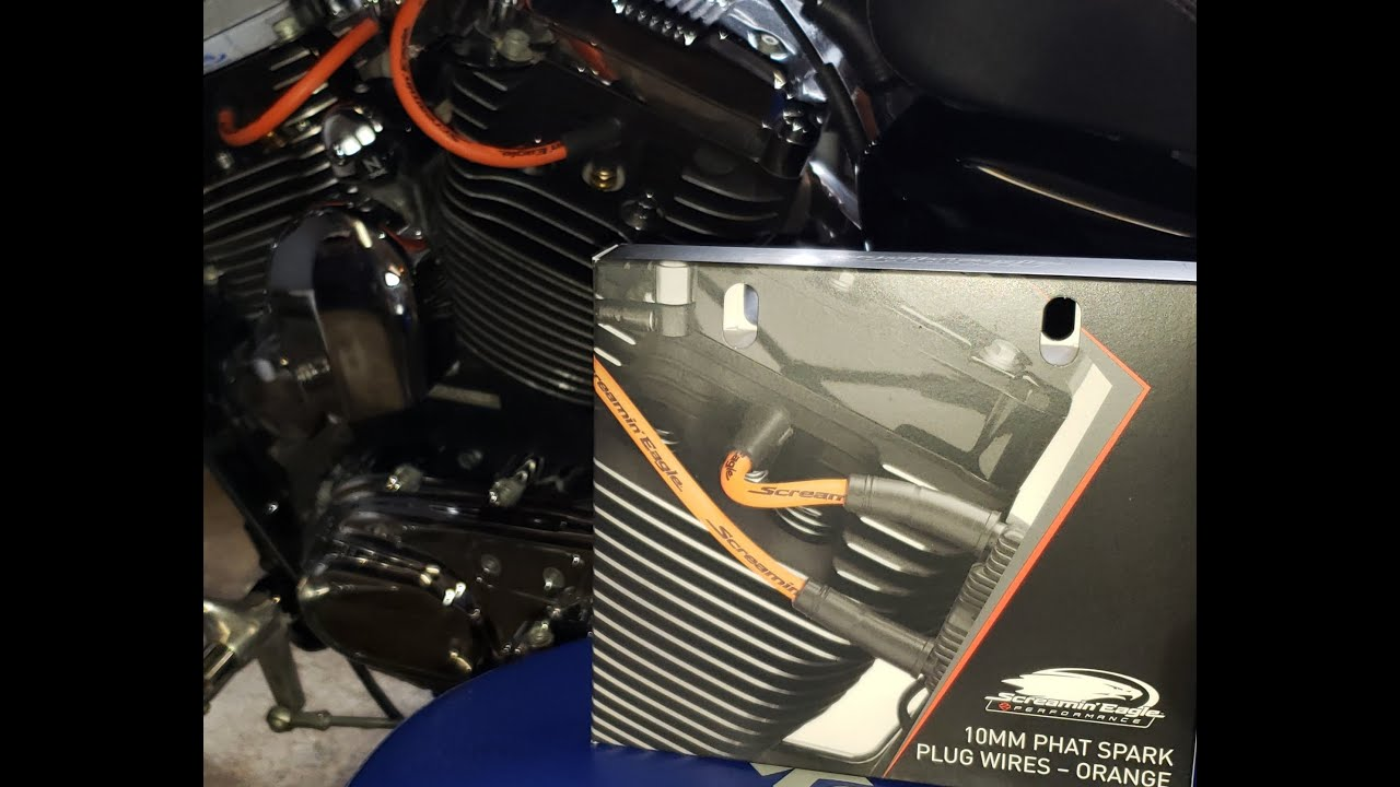 Screamin Eagle 10mm Phat Spark Plug Wires Review and Install on
