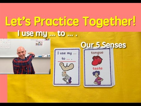Card Game | The 5 Senses | Our Body | 9 | English Speaking Practice | ESL | EFL | ELL