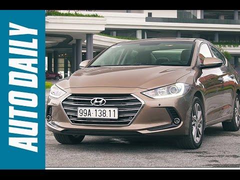 Autodaily.vn   Đánh giá xe Hyundai Elantra 2016: Đối thủ của Mazda3 và Toyota Altis